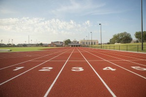 Image Taken at the OSU Track and Field Facility, Friday, August 23, 2013, Stillwater, OK