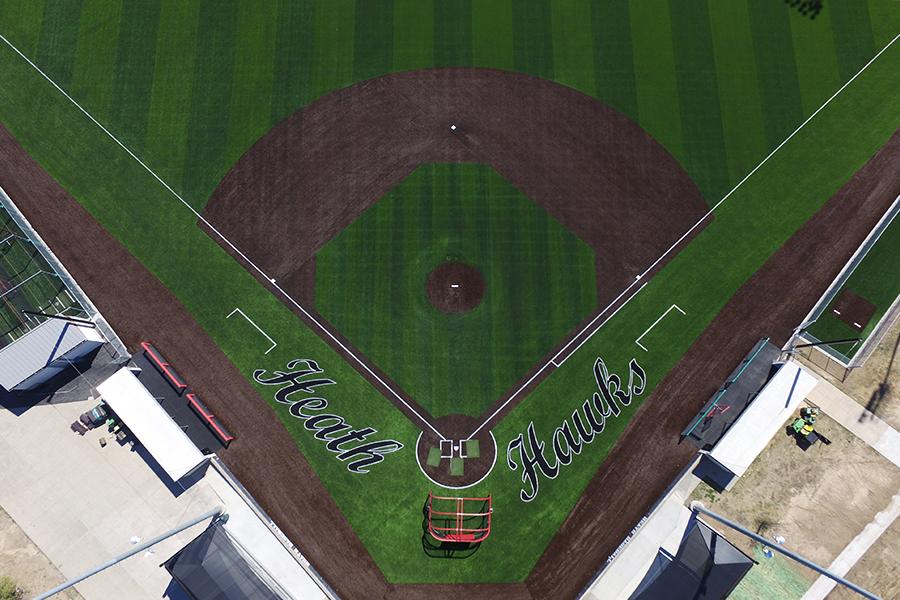 Rockwall Heath High School Baseball & Softball Fields ...