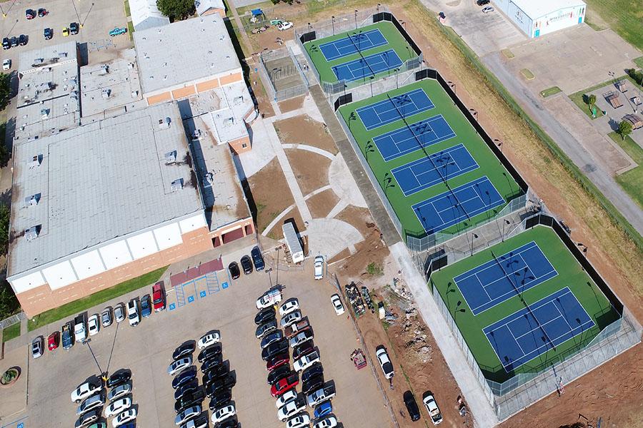 Burkburnett ISD Tennis Courts