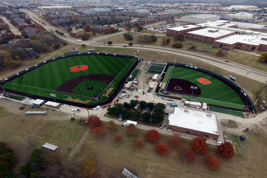 Rockwall High School Baseball Fields