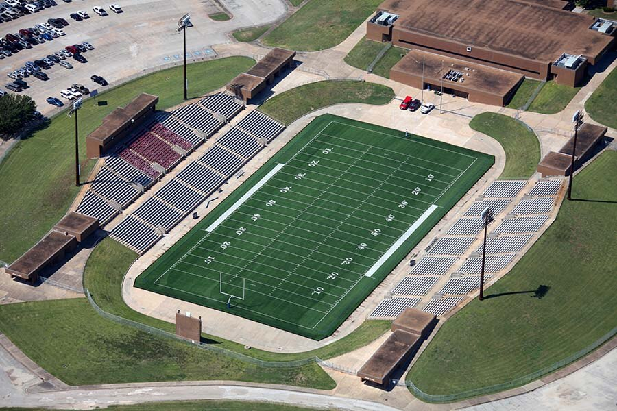 Mercer Stadium Project - Turf Installation   PSC